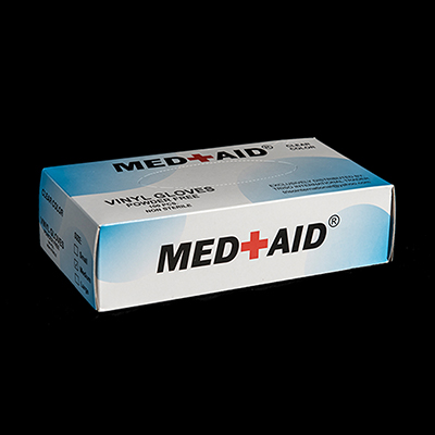 Med Aid Vinyl Gloves